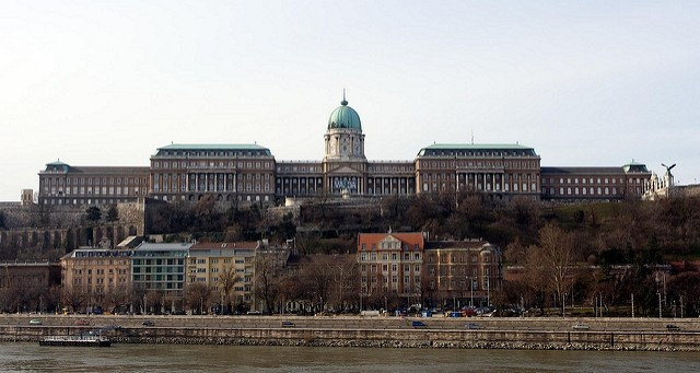 The Hungarian National Gallery at Buda Castle